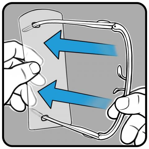 User Manual - 4 - Remove blister